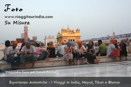 Foto India, Tempio d'Oro, Golden Temple, Amritsar
