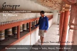 Foto India, Routa delle Preghiere, Monastero Hemis
